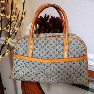 Louis Vuitton Lin Marie Blue Handbag